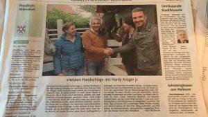 Hardy Krüger_Zeitungsartikel
